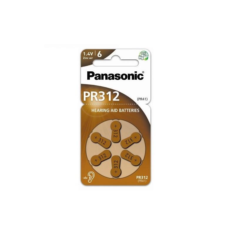 PR312 PANASONIC BATTERIA ACUSTICA 1.4V