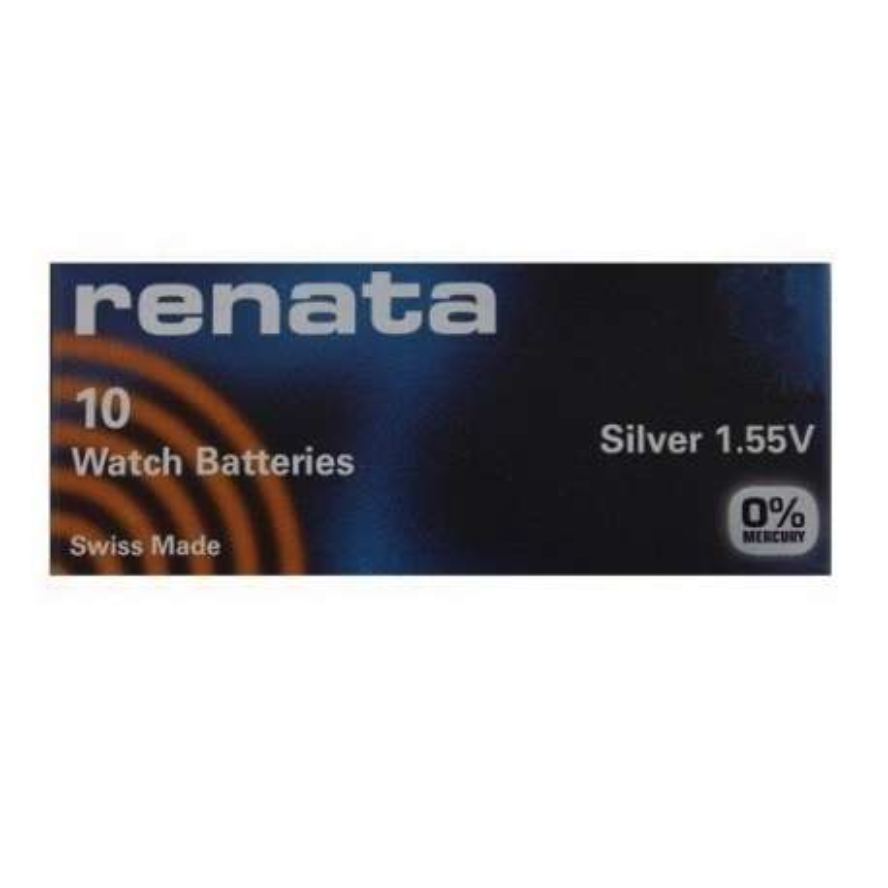 339 SR614SW RENATA BATTERIA SILVER 1,55V