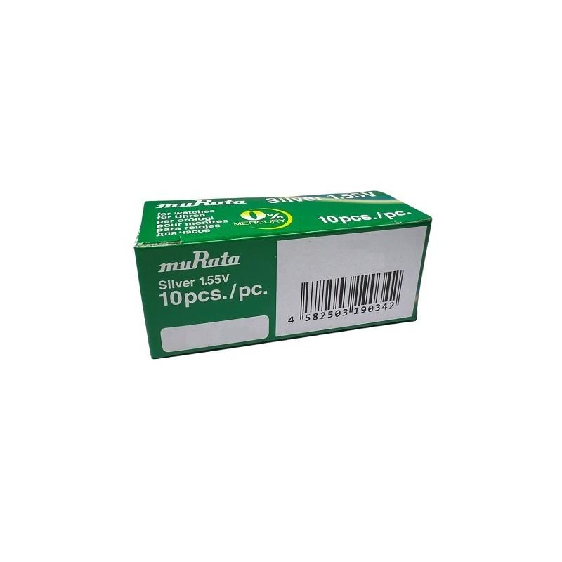 386-301 SR43 SONY BATTERIA SILVER 1,55V