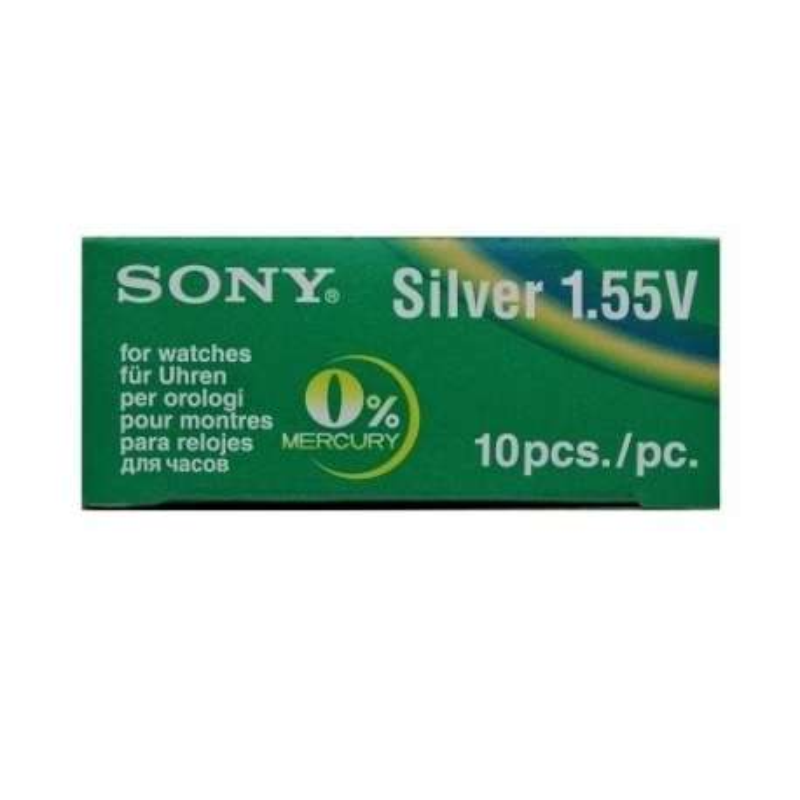 392-384 SR41N SR736SW SONY BATTERIA SILVER 1,55V