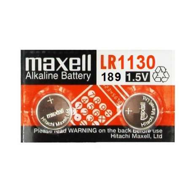 LR1130 MAXELL BATTERIA ALKALINE 1.5V