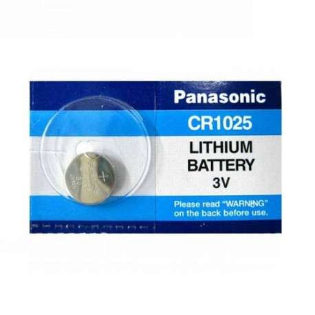 CR1025 PANASONIC BATTERIA LITHIUM 3V