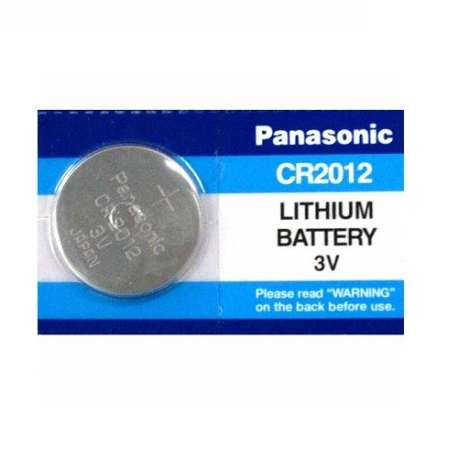 CR2012 PANASONIC BATTERIA LITHIUM 3V