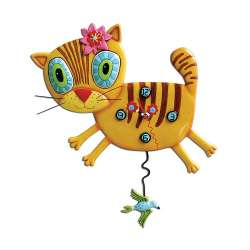 OROLOGIO A PENDOLO ALLEN DESIGNS KIMI KITTY