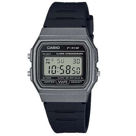 F-91W-1B CASIO OROLOGIO DIGITALE