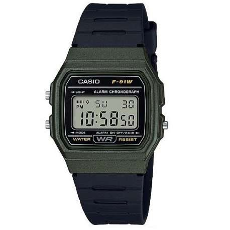 F-91W-3A CASIO OROLOGIO DIGITALE