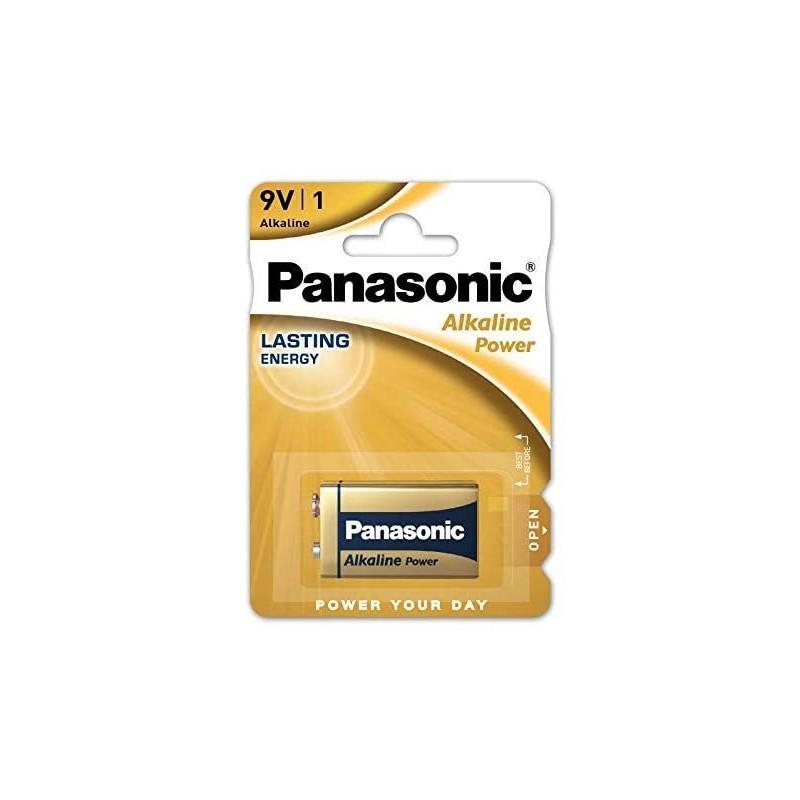 6LR61 PANASONIC BATTERIA ALKALINE 9V
