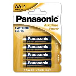 AM3/LR6-B4 PANASONIC BATTERIA ALKALINE STILO 1.5V