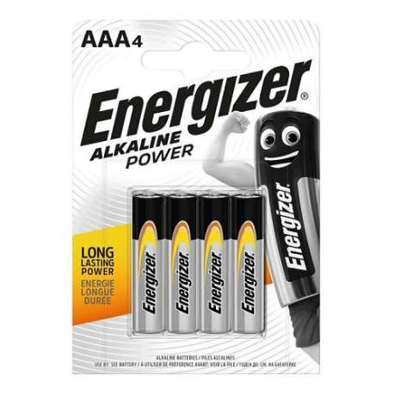 AAA4-B4 ENERGIZER BATTERIA ALKALINE MINI STILO 1.5V