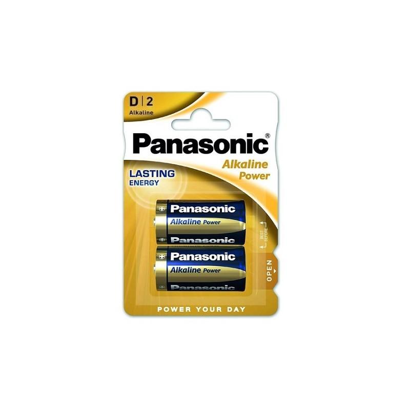 AM1/LR20-B2 PANASONIC BATTERIA ALKALINE TORCIA 1.5V
