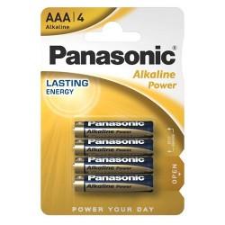 AM4/LR03-B4 PANASONIC BATTERIA ALKALINE MINI STILO 1.5V