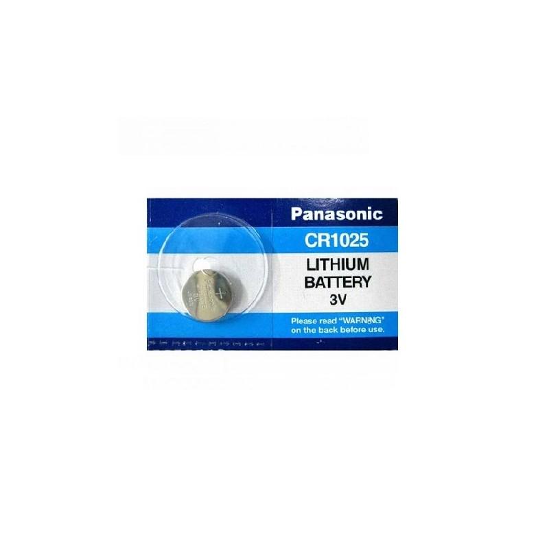 CR1025 PANASONIC BATTERIA LITHIUM 3V