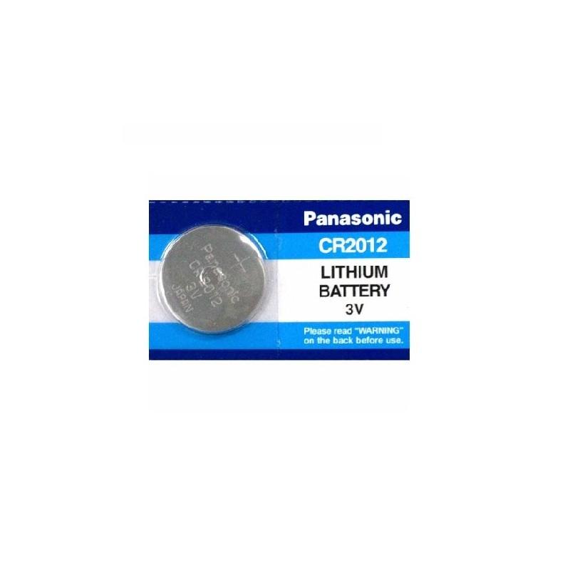 CR2012 PANASONIC BATTERIA LITHIUM 3V