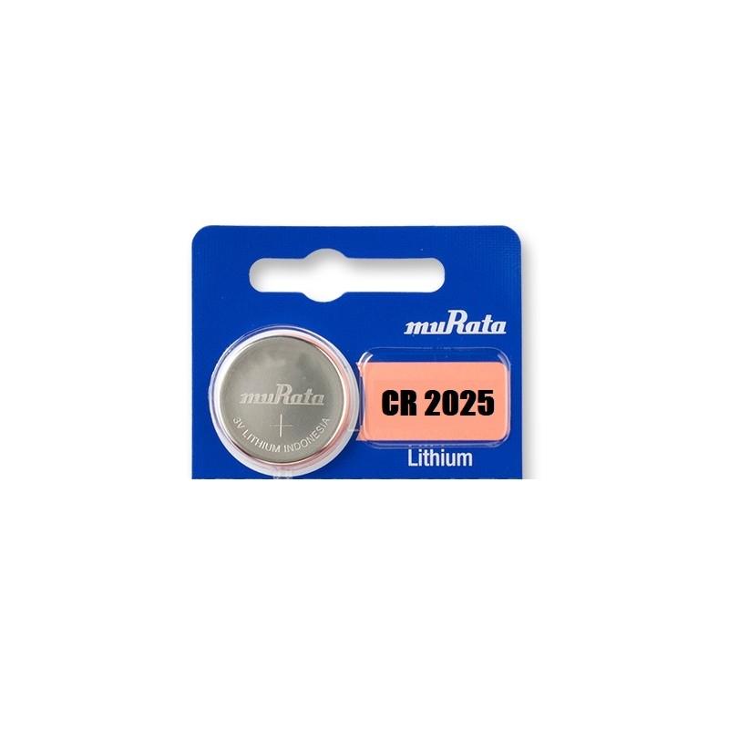 CR2025 MURATA BATTERIA LITHIUM 3V