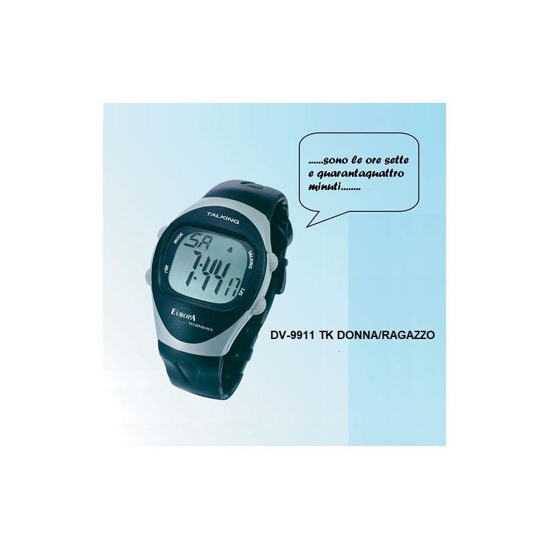 DV-9911 TK EUROPA OROLOGIO DIGITALE PARLANTE